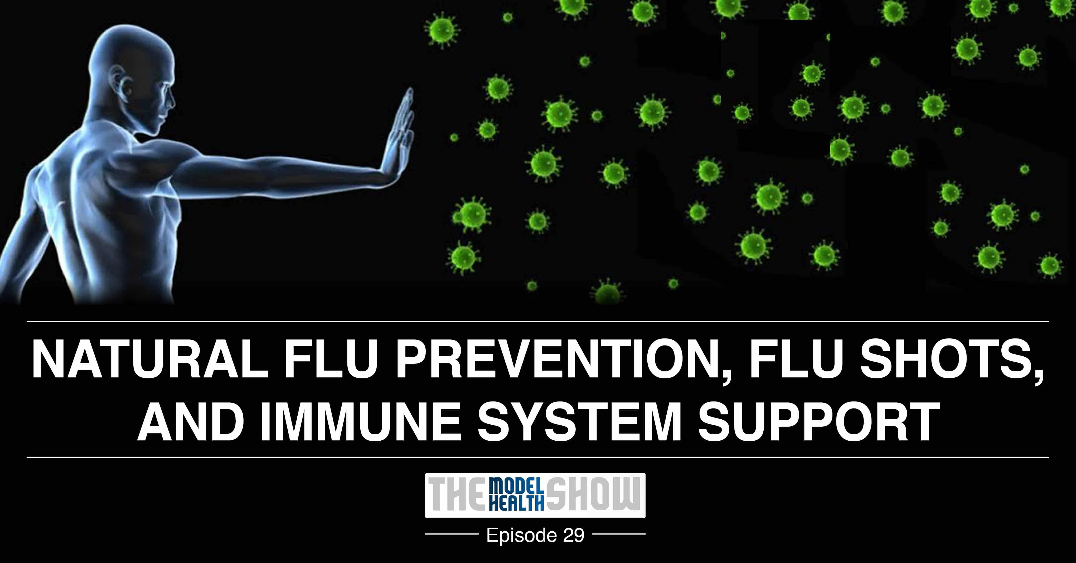 Natural Flu Prevention, Flu Shots, And Immune System Support