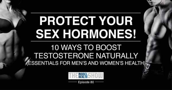 How to build up your testosterone level naturally