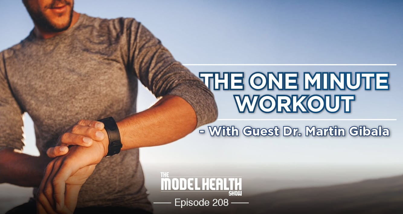 The One Minute Workout - With Dr. Martin Gibala