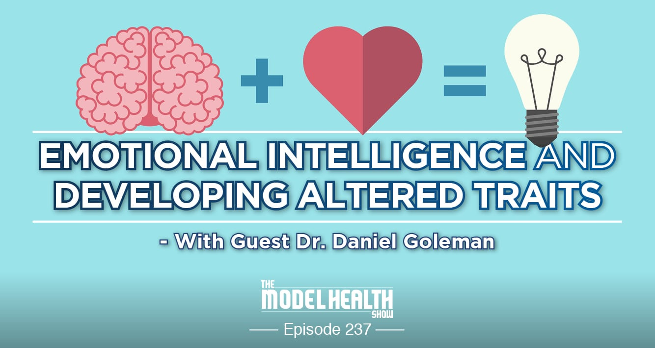 Emotional Intelligence And Developing Altered Traits - With Dr. Daniel Goleman