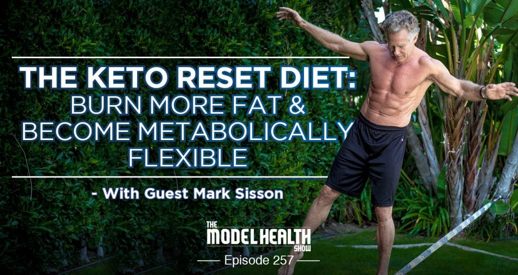 TMHS 257: The Keto Reset Diet: Burn More Fat & Become